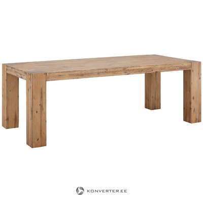 Aisha Table 220x100 - Acacia