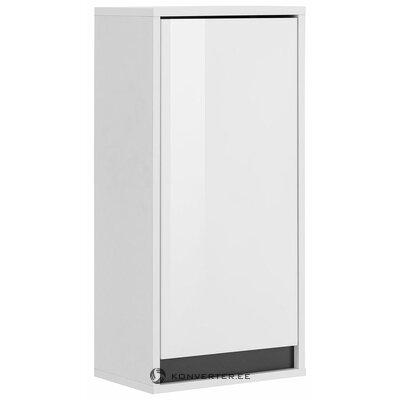 Белый настенный шкафчик (золь) (коробка, вся)