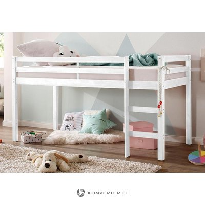 White bunk bed single (alpine) (in box, whole)
