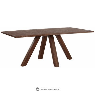 McKinney D.table 160 - brown