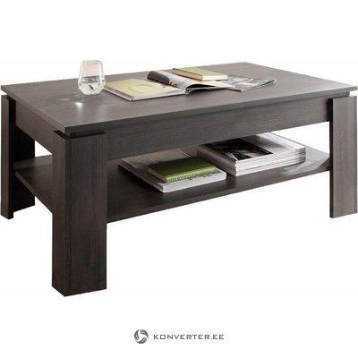 Dark gray coffee table with shelf (trendteam) (full, in box)