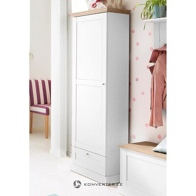 Narrow wardrobe Scandinavian style (binz)