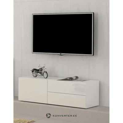 Valge Kõrgläikega TV-Kapp (Metis) (Väiksed Iluvead, Karbis)