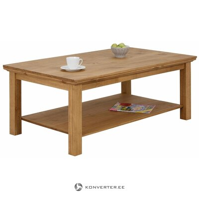 Light brown coffee table (melissa) (defective, hall sample)
