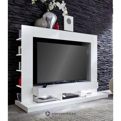 Белый шкаф для телевизора (ttx-05) (весь, в коробке)