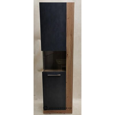 Brown-gray high display cabinet (rock) (hall sample, with beauty flaws)