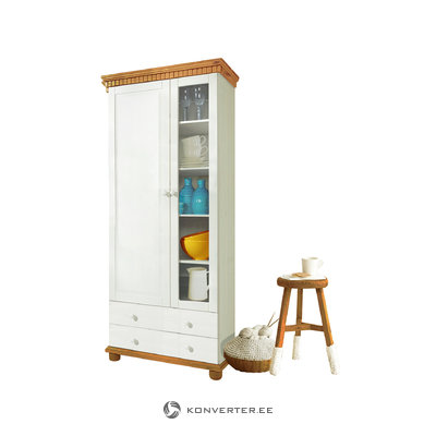 Castor Cabinet - White/Honey