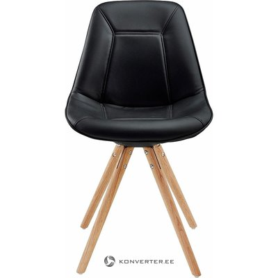 Black-brown chair (whole, in box)