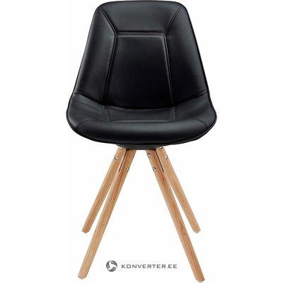 Melni brūns krēsls (vesels, paraugs)