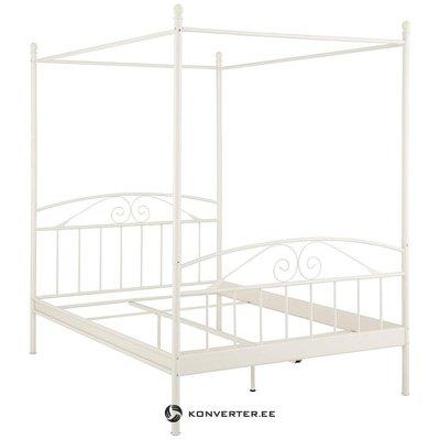 Balta metāla gultas veļa (180x200)