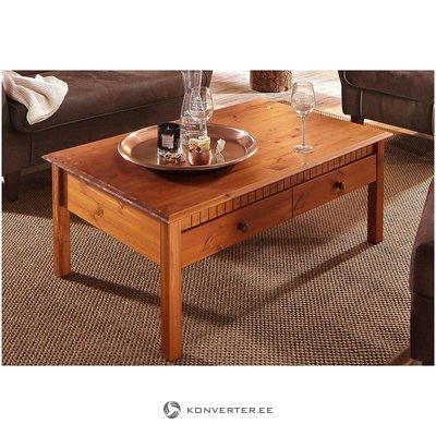 Solid wood coffee table (whole, in box)