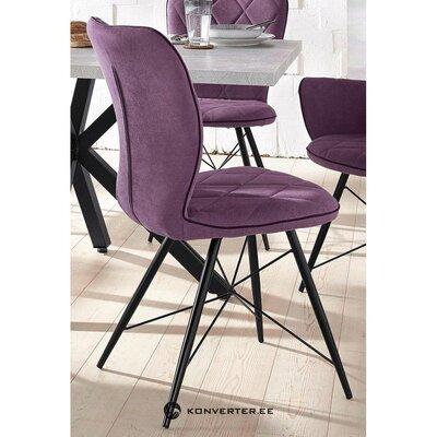 Violetti pehmeä tuoli (alttoviulu)