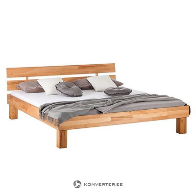 Brown solid wood bed (180x200) (areswood) (in box, whole)