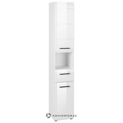 White high gloss bathroom cabinet (in a box, whole)