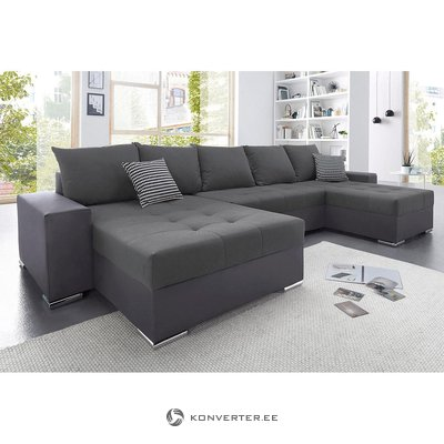 Gray anthracite sofa bed (with beauty defects, in box)