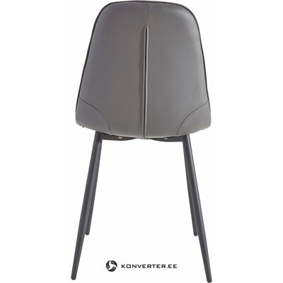 Gray soft chair (with beauty defects., Hall sample)