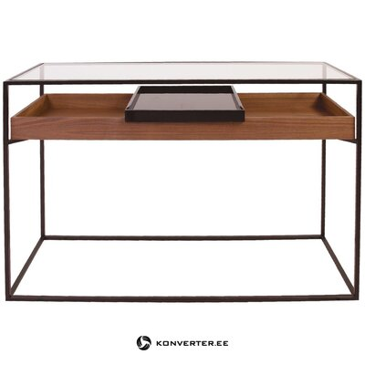 Walnut design table (zago) (sample room, defective,)