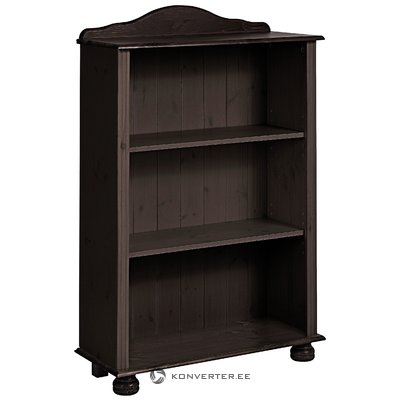 Ella Bookcase low Havana lacquer