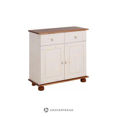 Ella Sideboard 2 doors/1 drawer white/honey lacquer