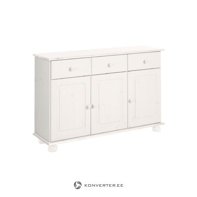 Ella Sideboard 3 doors/2 drawers white lacquer