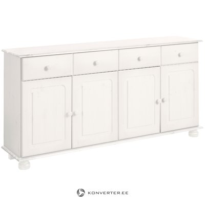 Ella Sideboard 4 doors/2 drawers white lacquer