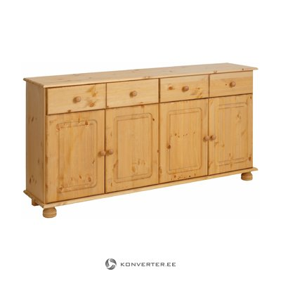 Ella Sideboard 4 doors/2 drawers stain/wax