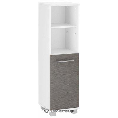 Бело-серый шкаф (Палермо)