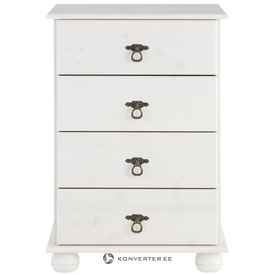 White chest of drawers (finca) (in box, whole)
