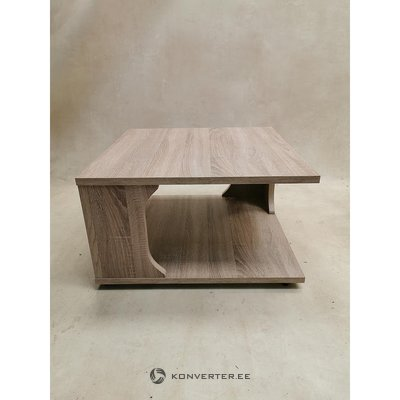 Brown coffee table (healthy prey sample)