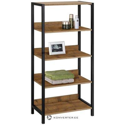 Brown bathroom shelf (chris) (healthy, in a box)