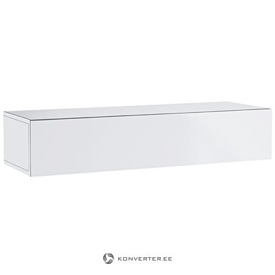 White high gloss wall cabinet