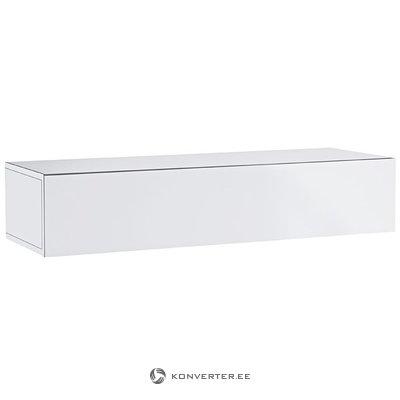 Baltoji blizga sieninė spinta