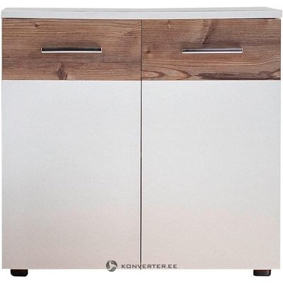 White-brown sink cabinet (summer) (whole, in box)