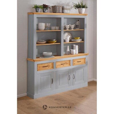 Gray-brown solid wood cabinet (selma)