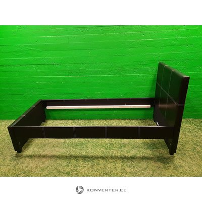 Musta nahkasänky (90x200)