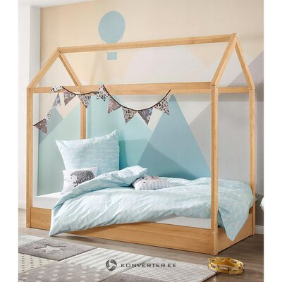 Solid wood cot (Ellen)