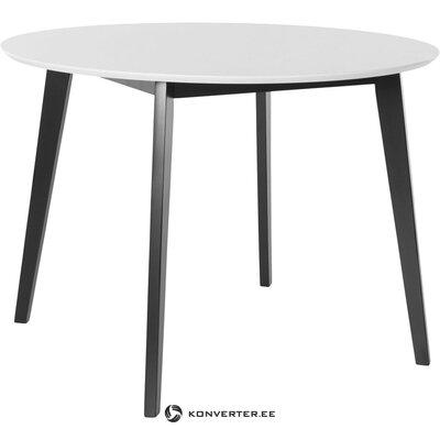 Mustavalkoinen ruokapöytä (Cody)