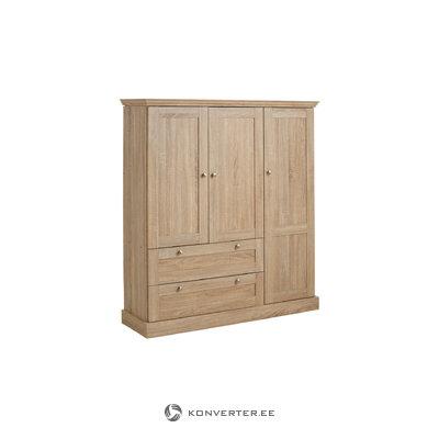 Bruce Laundry Cabinet 3 doors Oak 3 Doors