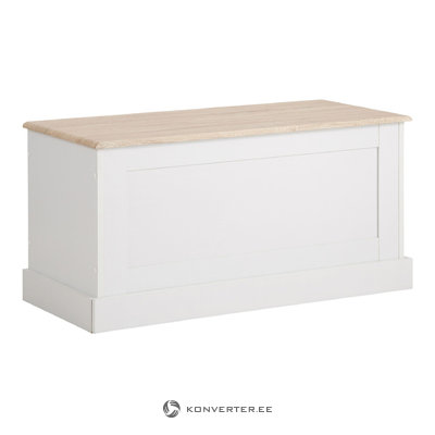 Bruce Trunk White/Oak 3 Doors