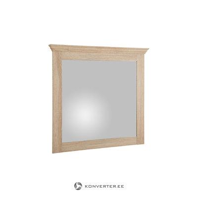 Брюс зеркальный дуб 3 двери