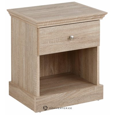 Bruce Nightstand Oak 3 Doors