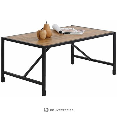 Коричнево-черный маленький диван-стол (сохо)