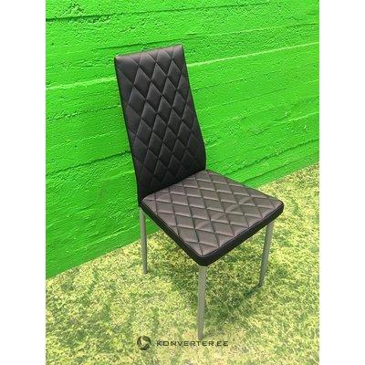Must tool pehme nahkkattega
