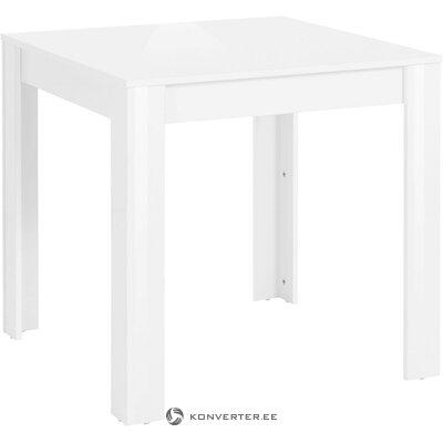 Väike Valge Söögilaud(80x75cm) (Lynn)
