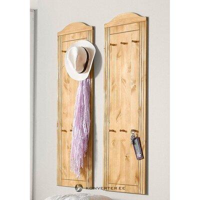 Vaaleanruskea seinä ripustin (finca) (laatikko, kokonainen)