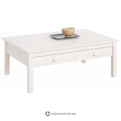 Masīvkoka balts dīvāns (laura)