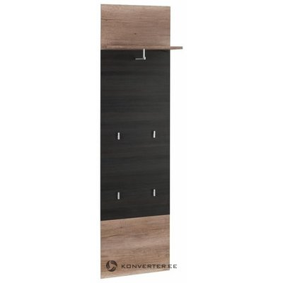 Brown-black wall shelf with racks (polo) (whole, in box)