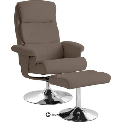 Cappucino swivel armchair (boston)