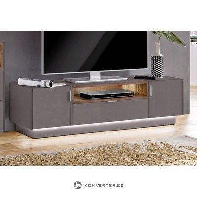 Gray-brown tv cabinet (atlanta) (defective., Box)