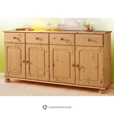 For light brown solid wood chest of drawers